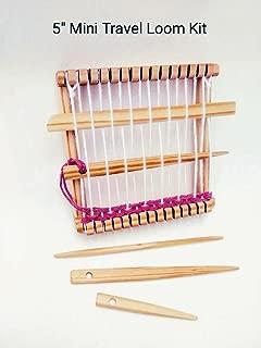 5 inch Travel Mini Loom kit Tools included Oak