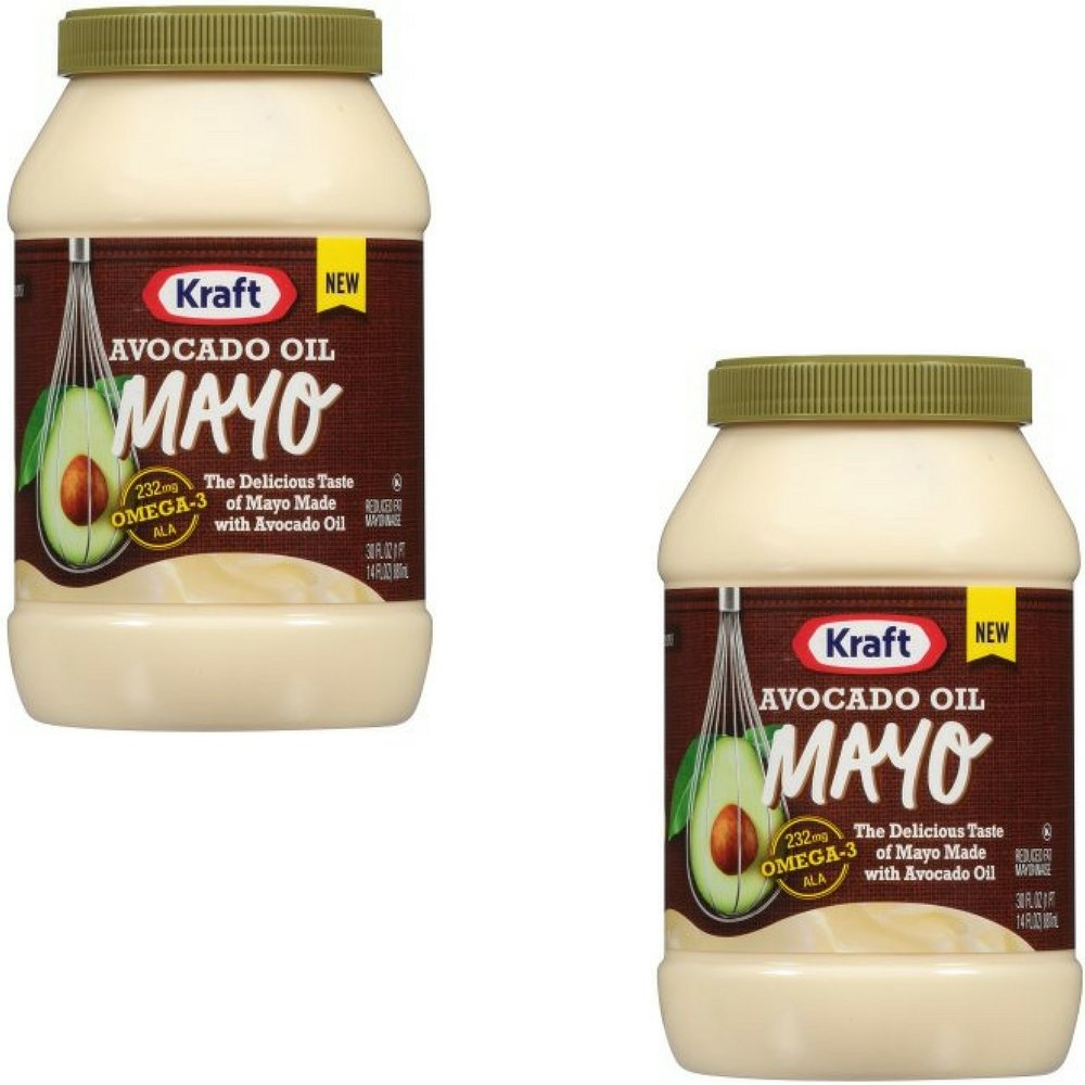 Sale special price MAYO Kraft Mayonnaise Avocado Oil of Oz 30 Max 49% OFF 2 Pack