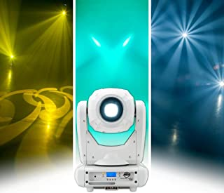 ADJ Products ADJ Spot Three Z Pearl is a 100W LED Moving Head with White casing Plus Focus and Motorized Zoom
