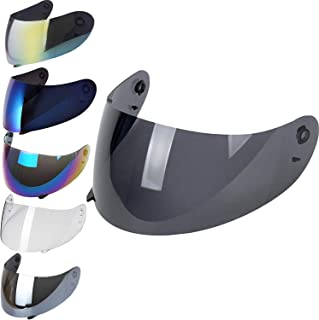Visiera Suomy Apex Spec 1R Extreme Excel Trasparente Fume Blu Oro Arcobaleno Aftermarket Fume 30/%