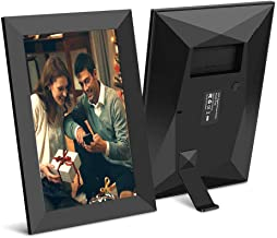 Scishion 10.1 Inch 16GB WiFi Digital Photo Frame with HD IPS Display Touch Screen - Share Moments Instantly via Frameo App...