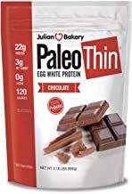 Julian Bakery : Paleo Protein Powder : Chocolate (Egg White) (Soy-Free) (30 Servings), 2.18 Pound (Pack of 1)