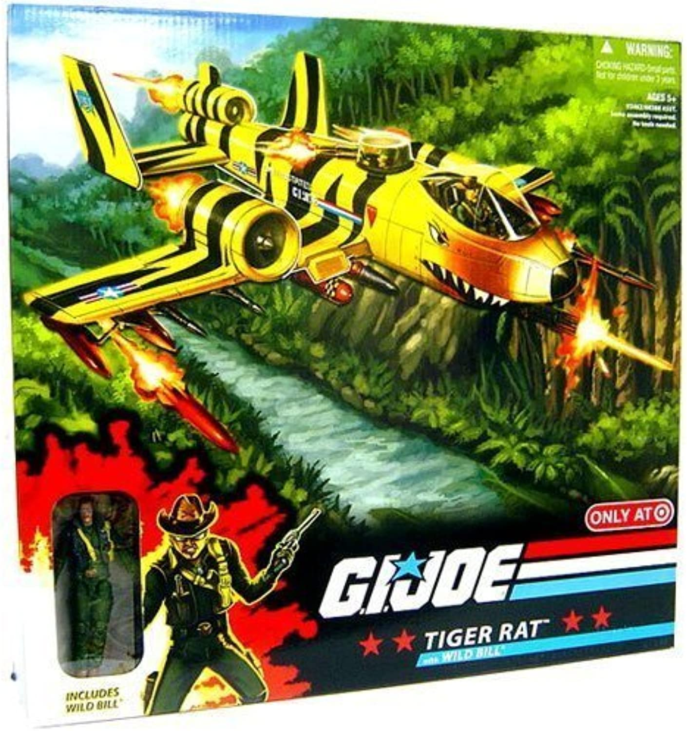 G. I. Joe Exclusive Deluxe Vehicle Tiger Ratte with Wild Bill by Hasbro (English Manual)