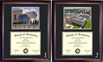 UC Davis Diploma Frame with photo and wood frame (Cherry, Walnut)