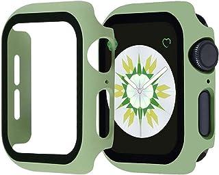 ZAALFC PC Matte Funda Hard Case 360 Protector de Pantalla Completa Marco de parachoque para Apple Watch 6 SE 5 4 3 2 1 C...