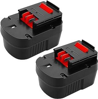 Powilling - Batería de repuesto para Black & Decker HPB12 (12 V, 3,5 Ah, 12 V, HPB12, A12, FS120B, FSB12, HPB12, A12, A12-XJ, A12EX, Firestorm, FS120B, FS120BX, 12 V, 2 unidades)