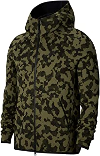 Nike Sportswear Tech Fleece Mens Full-Zip Printed Hoodie Cj5975-222