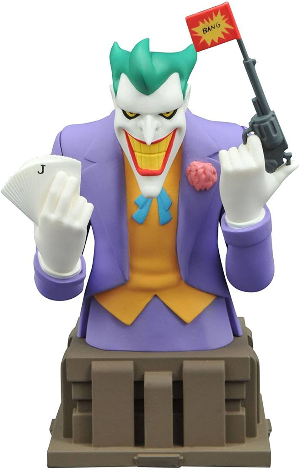 Batuomo The Animated Series Joker autobust Limited edizione of 3000 Pieces Worldwide by Diamond Select