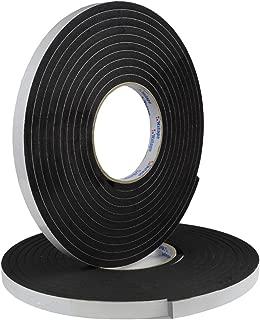 Hxtape Multi Size Choices High Density Foam Tape,Single Side Adhesive,Soundproofing Waterproofing Insulation Foam Gasket Tape Weather Strip (1/4