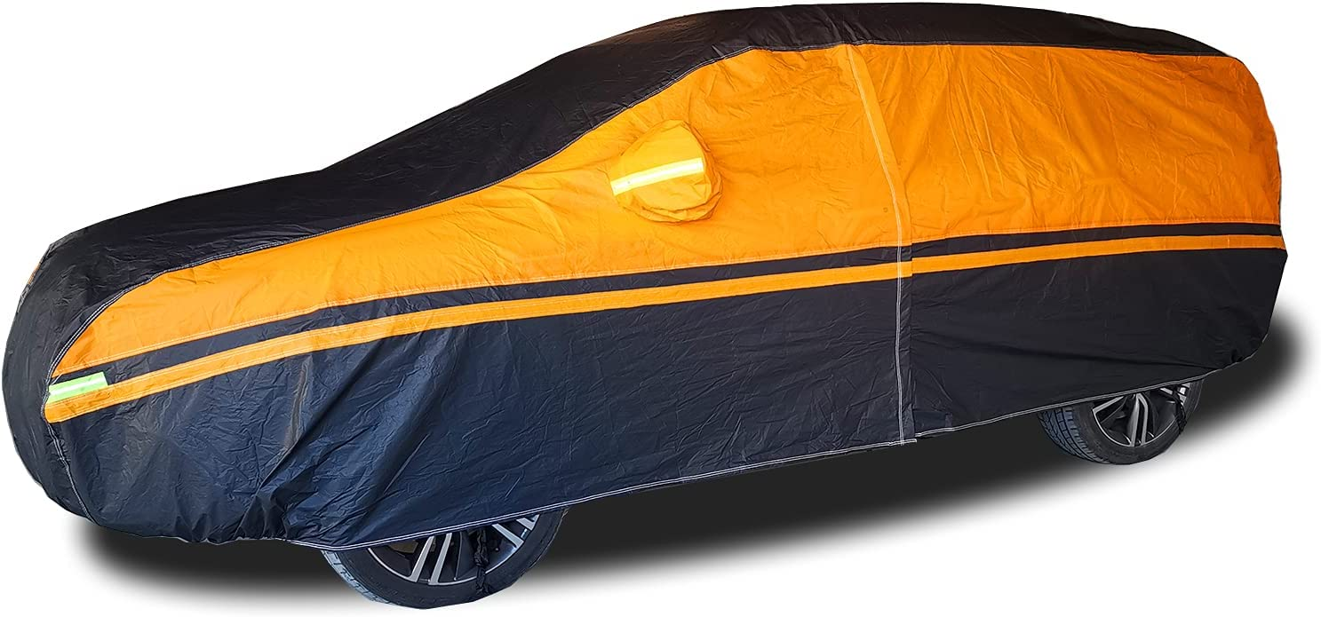 MERCARS Car Animer and price revision Cover Waterproof All Heavy Duty Excellence Layer 6 Weather
