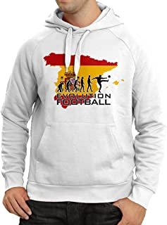 lepni.me N4497H Hoodie Evolution Football - Spain
