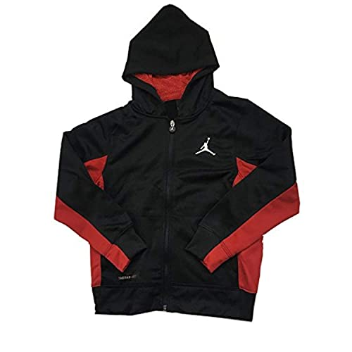2e50d83fe0f Jordan Nike Air Boys' Therma-Fit Jumpman Full Zip Hoodie