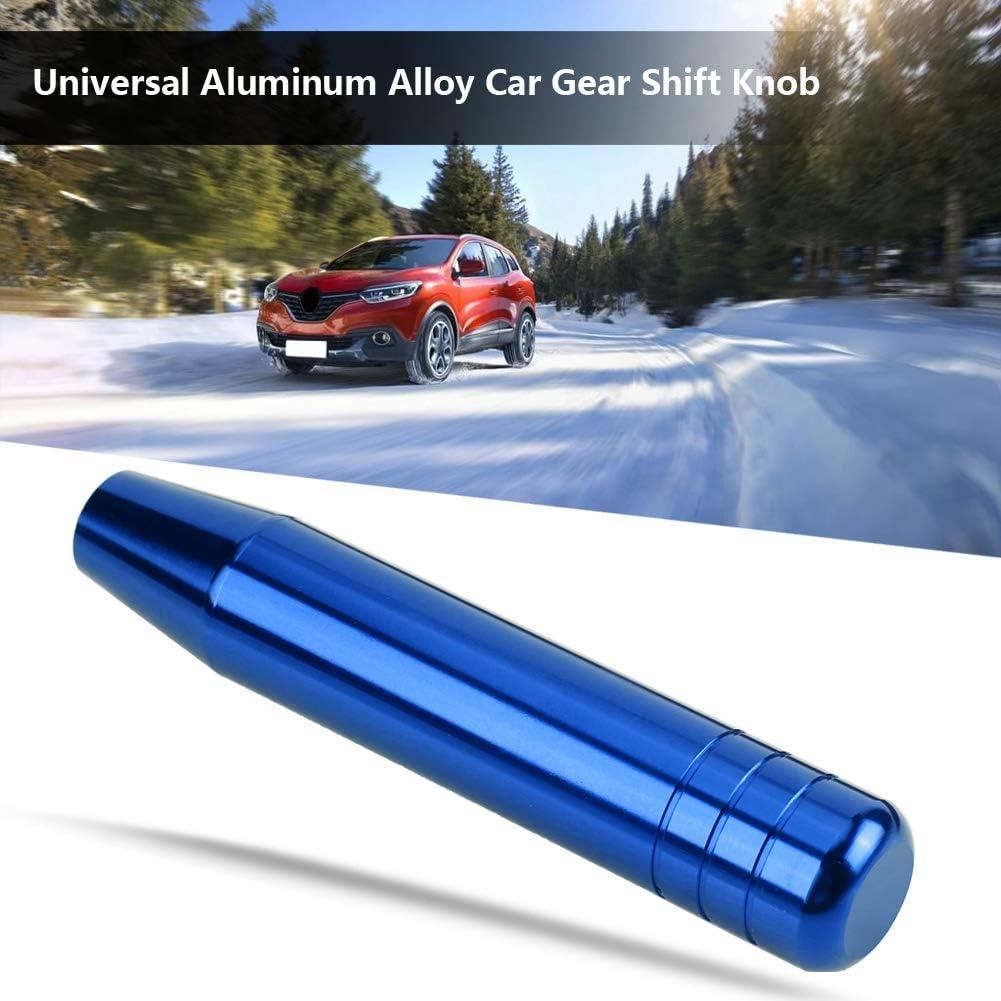 Cuque 18cm Gear Shift Knob Red 7.1in Car Gear Shift Shifter Knob Universal Automobile Head Handle Lever Aluminum Alloy Auto Gear Shift Knob Head
