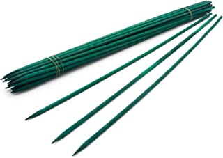 """18"""" Green Wood Plant Stake, Floral Picks, Wooden Sign Posting Garden Sticks (25 Pcs) by Royal Imports"""