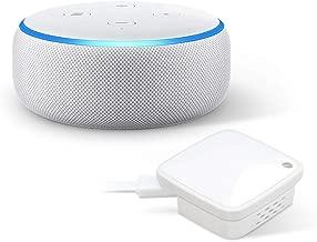 ラトックシステム スマート家電コントローラ RS-WFIREX4 + Echo Dot 第3世代 - スマートスピーカー with Alexa、サンドストーン