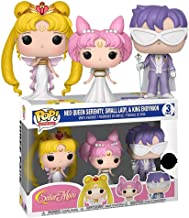 Funko Pop! Animation Sailor MoonExclusive 3 Pack Neo Queen Serenity,Small Lady & King Endymion