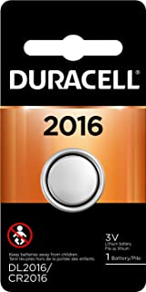 Duracell - 2016 3V Lithium Coin Battery - long lasting battery - 1 count