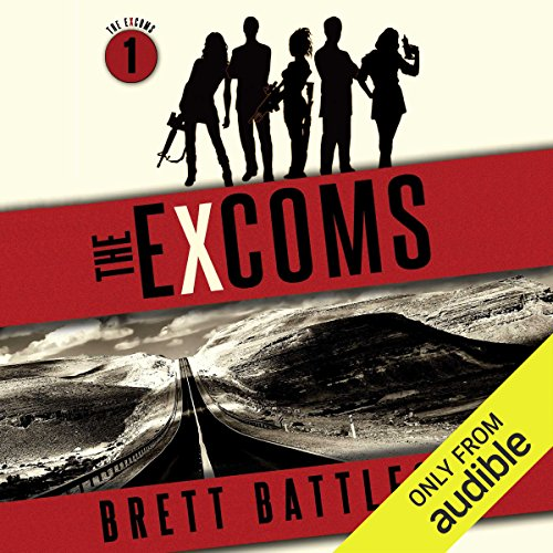 The Excoms audiobook cover art