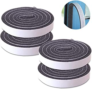 Thick Foam Tape, Seal Insulation Tape Adhesive and Window Insulation Weather Stripping for Doors, Waterproof, Dustproof, S...
