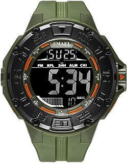 SMAEL Mens Military Multifunction Digital LED Watch Electronic Waterproof Quartz Sports Watch