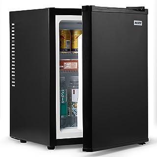 ANJI DEPOT Mini Wine/Drink/Beverage Cooler/Fridge, Built-In Thermostat, LED Light, Security Lock, Energy Class (40L)