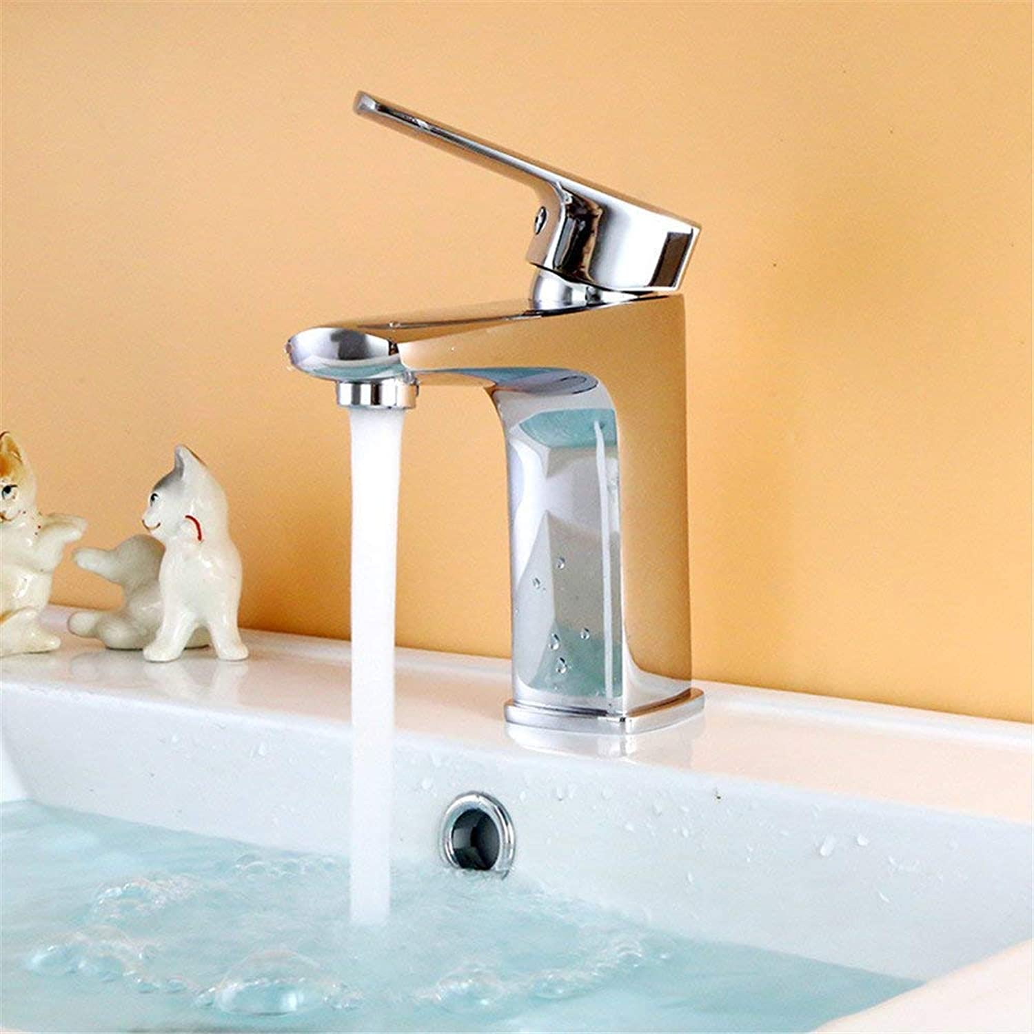 European Audience Hot and Cold Wash Basin Faucet Sanitary Ware (color   -, Size   -)