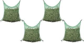 H x l Filet /à Foin 2 pcs Carr/é 0,9 x 1 cm Nishore 100/% PP Vert