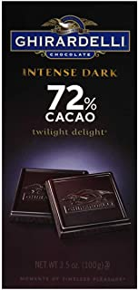 Ghirardelli Twilight Delight Intense Dark Gourmet Chocolate Bar, 3.5 Ounce - 12 per case.