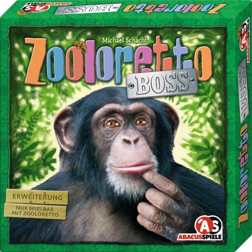ABACUSSPIELE 04102 - Zooloretto Boss. 3. Erweiterung, Brettspiel