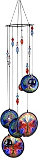 Wind Chimes Outdoor Decor,Metal Memorial Windchimes,Tree of Life Sympathy Crystal Wind Chimes Gifts for Garden Home Yard H...