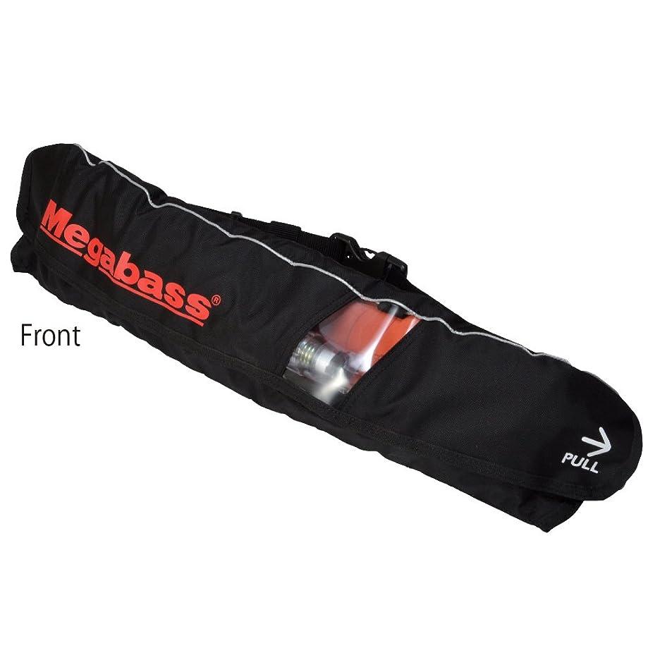 懸念エジプト人チョコレートメガバス(Megabass) LIFE SAVER(WAIST)(ライフセーバー) BLACK MEGABASS 34521
