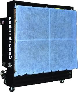 evaporative cooler pad frame