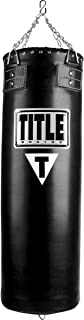 Title Boxing Synthetic Leather Heavy Bag