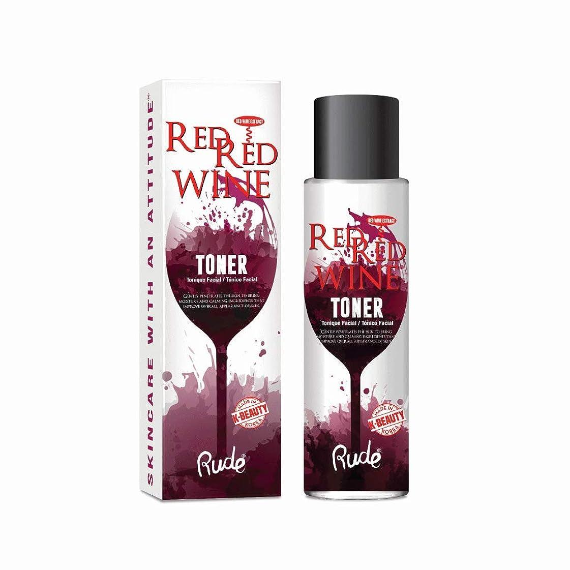 挨拶する叙情的な突き刺す(6 Pack) RUDE Red Red Wine Toner (並行輸入品)