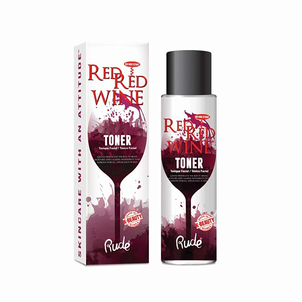 スピリチュアル概念ではごきげんよう(6 Pack) RUDE Red Red Wine Toner (並行輸入品)