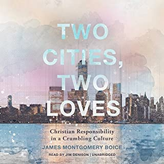 Two Cities, Two Loves audiobook cover art