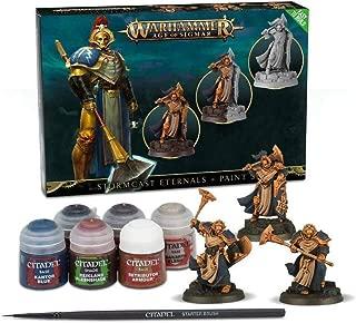 Games Workshop Warhammer Age of Sigmar: Stormcast Eternals + Paint Set