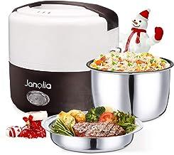 Janolia Boîte à Repas Électrique pour la Rentrée, Mise à Niveau Version, Lunch Box Chauffante, Réchauffeur de Nourriture P...