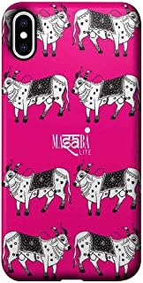 Macmerise IPCIXMPMS1226 Masaba Cow Print - Pro Case for iPhone XS Max - Multicolor (Pack of1)