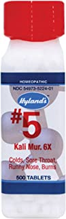 Hylands Homeopathic Kali Mur 6X Cell Salts 500 Tab