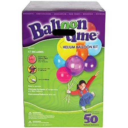 Balloon Time Disposable Helium Kit, 14.9 cu.ft.