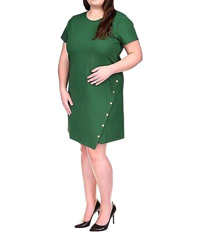 MICHAEL Michael Kors Plus Size Side Snap Mini Dress