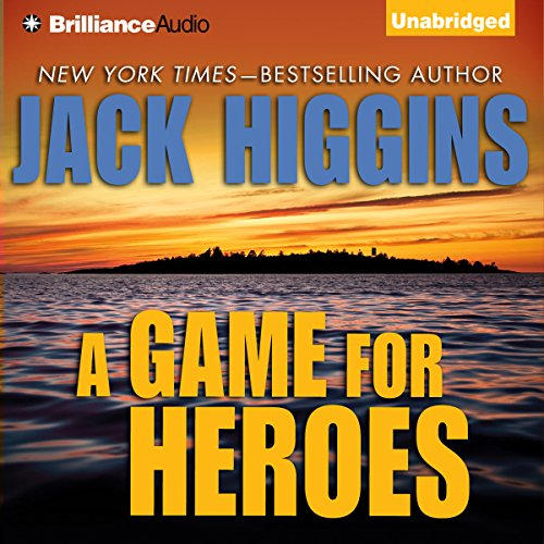 A Game For Heroes audiobook cover art