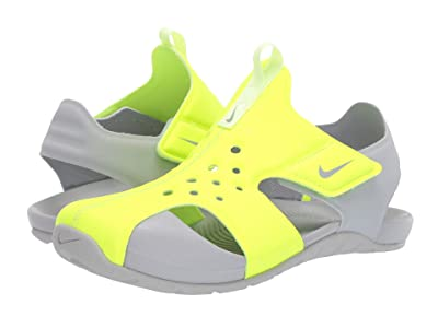 Nike Kids Sunray Protect 2 (Little Kid) (Volt/Barely Volt/Wolf Grey) Boys Shoes