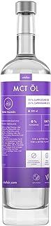 VITAFAIR MCT Öl C8 & C10 - Vegan, Glasflasche, Ohne Zusatzstoffe, German Quality - MCT Oil aus 100% Kokosnuss 75% Caprylsäure & 25% Caprinsäure - Geschmacksneutral - 500ml