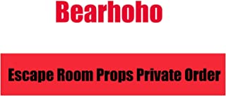 Bearhoho Escape Room Props Private Custom