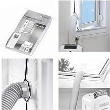 TROTEC AirLock 100 Fensterabdichtung für Klimageräte mobile Klimaanlage Ablufttrockner Hot Air Stop zum Anbringen an Fenster, Dachfenster, Flügelfenster