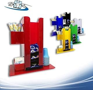 Circuito AUT AUT Vetrina da Banco in Plexiglass F.to L40xP25,5xH30 cm vetrina per Alimenti con Sportello e Cerniere in Plastica