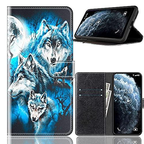 Sinyunron Handy Schutzhülle Kompatibel mit DOOGEE BL7000 Hülle Handy Tasche Hülle Handyhülle Lederhülle mit Kartenfächer,Ständer,Magnetverschluss,Hülle05C