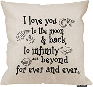 HGOD DESIGNS I Love You Theme Quote I Love You to The Moon and Back Star Moon Earth Cloud..